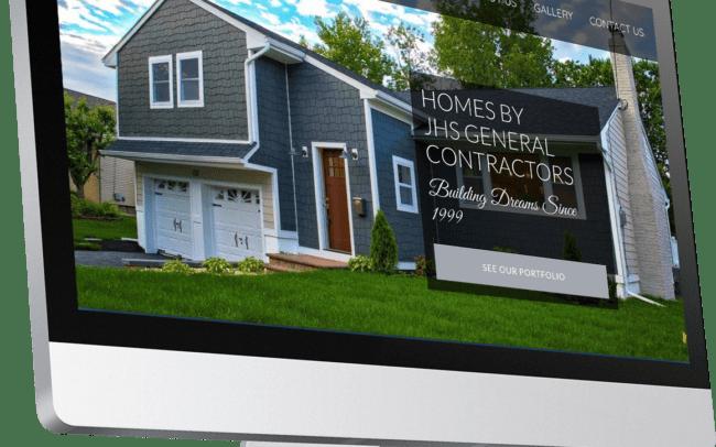 website design for contractor
