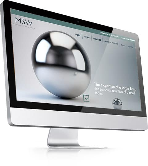 msw law firm website design